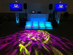 Long Island Bar Mitzvah DJ Picture with Platforms