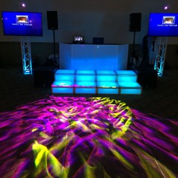 Long Island Bar Mitzvah DJ Picture with Platforms