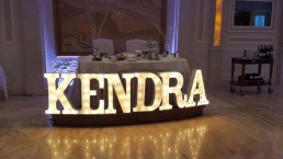 Long Island DJ Marquee Letters